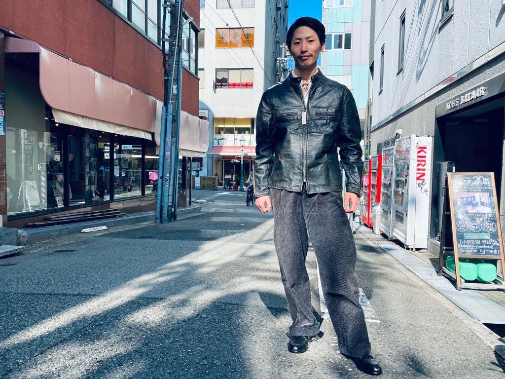 マグネッツ神戸店 8/26(水)秋Vintage入荷! #7 Vintage Leather Jacket!!!_c0078587_15491173.jpg