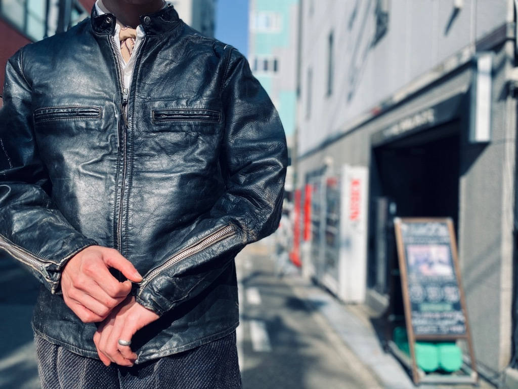 マグネッツ神戸店 8/26(水)秋Vintage入荷! #7 Vintage Leather Jacket!!!_c0078587_15491275.jpg