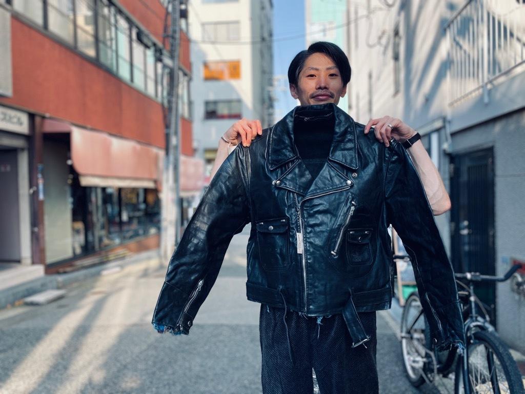 マグネッツ神戸店 8/26(水)秋Vintage入荷! #7 Vintage Leather Jacket!!!_c0078587_18445726.jpg