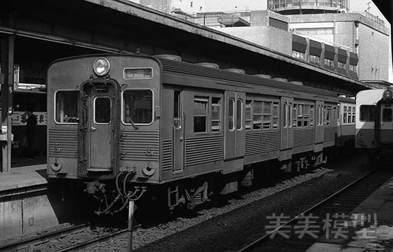 半世紀前のネガシートから 国鉄 千葉駅 ②_d0110009_10375602.jpg