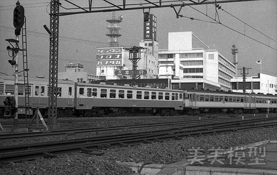半世紀前のネガシートから 国鉄 千葉駅 ②_d0110009_10441161.jpg