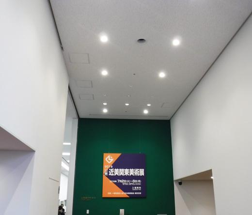 「2019年度 近美関東美術展」展示風景1(The exhibition landscape.)_e0224057_13521130.jpg