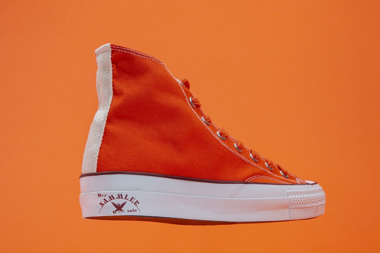 """Re: Der SAMMLER solo × TheThreeRobbers ARMY GYM SHOES HI ORANGE #4\""ってこんなこと。_c0140560_14405407.jpg"