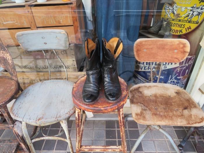 Used Tony Lama Western Boots Black_e0187362_12344076.jpg