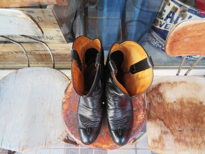 Used Tony Lama Western Boots Black_e0187362_12372617.jpg