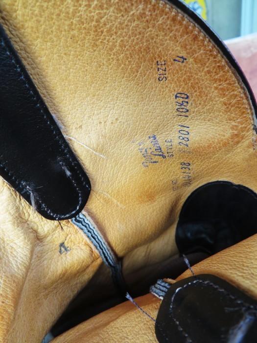 Used Tony Lama Western Boots Black_e0187362_12380326.jpg