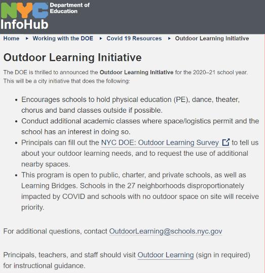 ニューヨーク市の学校、道路や公園での「屋外学習」も選択肢に!_b0007805_00003672.jpg