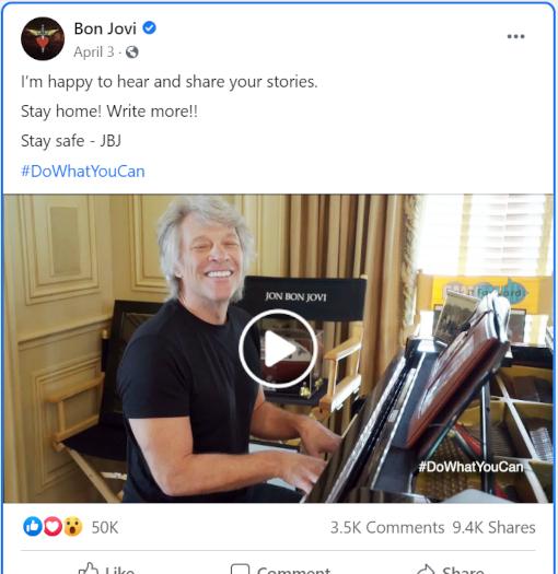 """ボン・ジョビさんの""""Do What You Can""""(あなたのできることをしよう)ミュージック・ビデオ_b0007805_22172925.jpg"""