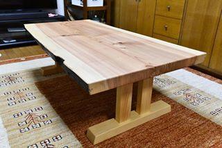 焼杉の座卓をリメイク_c0359306_23140666.jpg