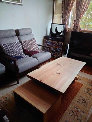 焼杉の座卓をリメイク_c0359306_23145330.jpg