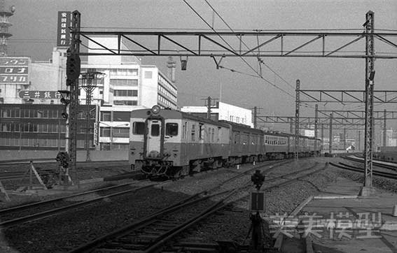 半世紀前のネガシートから 国鉄 千葉駅 ④_d0110009_10310113.jpg