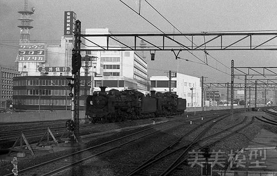 半世紀前のネガシートから 国鉄 千葉駅 ④_d0110009_10325311.jpg