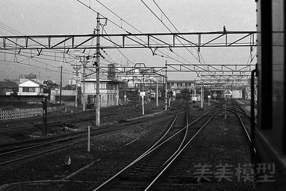 半世紀前のネガシートから 国鉄 千葉駅 ④_d0110009_10334556.jpg