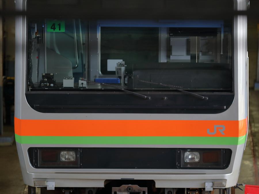 E231系3000番代 ハエ41編成がワンマン化改造される_b0353411_23034081.jpg