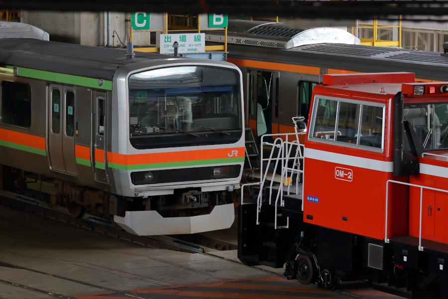 E231系3000番代 ハエ41編成がワンマン化改造される_b0353411_23284268.jpg