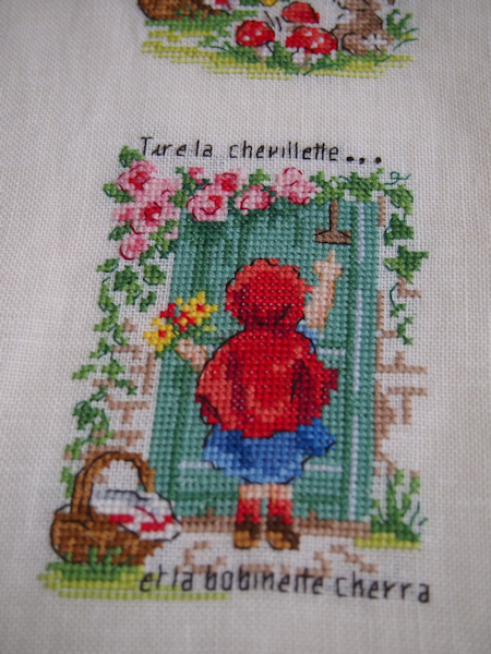 Le Petit Chaperon Rouge 4♪_a0143686_18161017.jpg