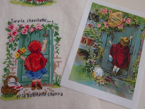 Le Petit Chaperon Rouge 4♪_a0143686_18162988.jpg
