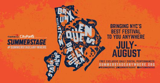NYの夏の風物詩、サマーステージがバーチャル化し、好評につき10/13まで延長へ_b0007805_23294665.jpg