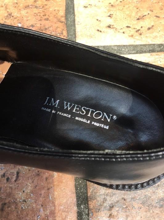 【J.M.WESTON】革靴女子に贈る、最強ソール補強_f0283816_13213549.jpeg