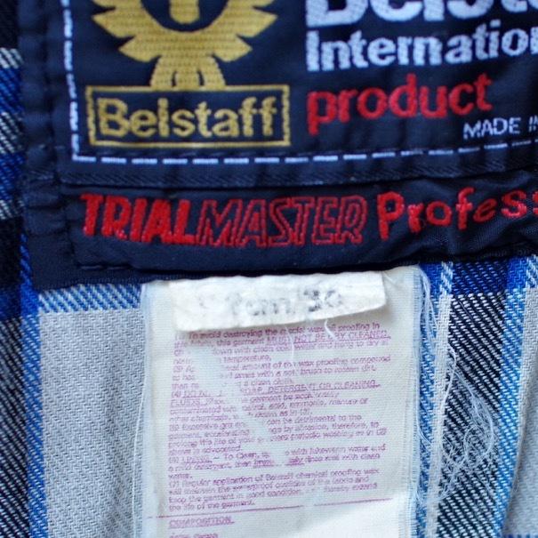 "1970s Belstaff \""TRIAL MASTER\"" Professional Waxed Cotton Jacket \""Size 36\""_d0257333_18333259.jpg"