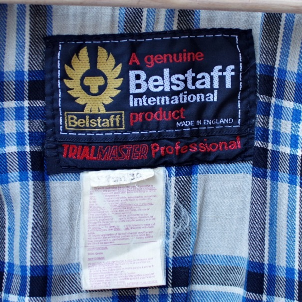 "1970s Belstaff \""TRIAL MASTER\"" Professional Waxed Cotton Jacket \""Size 36\""_d0257333_18333976.jpg"
