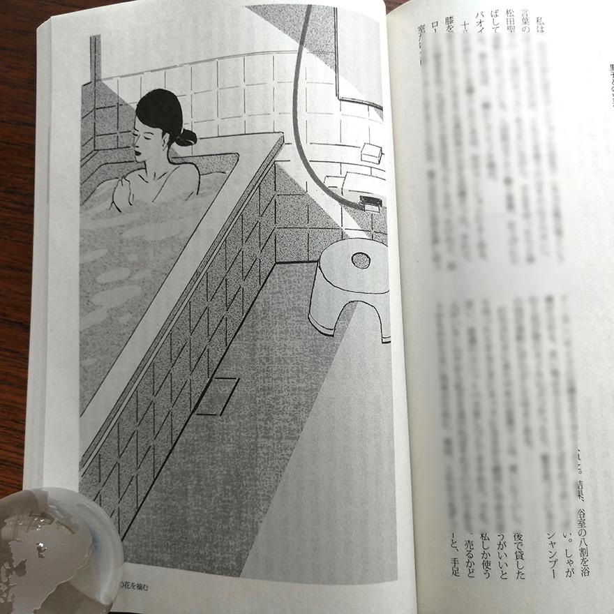 挿絵の仕事 小説推理「今日の花を摘む」第二回 _a0052641_15045251.jpg