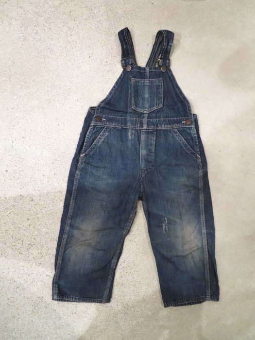 20\'s 30\'s ONE POCKET Kid\'s Overalls_e0187362_16513748.jpg
