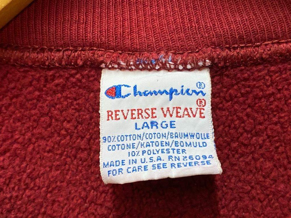 8月29日(土)大阪店秋物スーペリア入荷!!#6 Champion ReverseWeave Made In USA 編!!HalfZipParka!!(マグネッツ大阪アメ村店)_c0078587_13354884.jpg