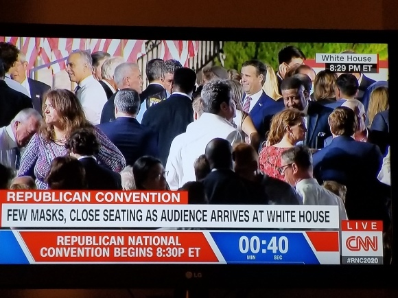 共和党大会が行われた米国_d0339894_11343155.jpg