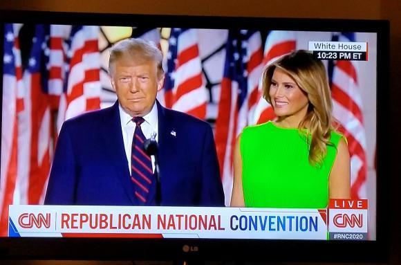 共和党大会が行われた米国_d0339894_11390098.jpg