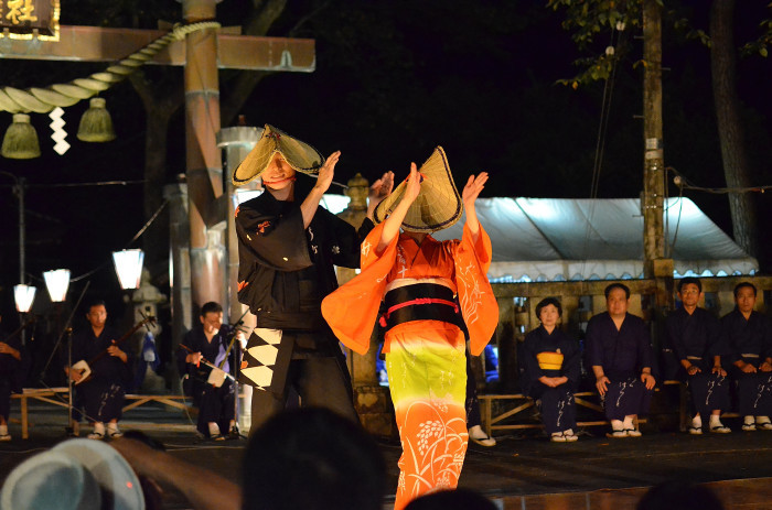 八尾回想2 おわら風の盆2014-12 下新町・八幡社_f0374895_00030216.jpg