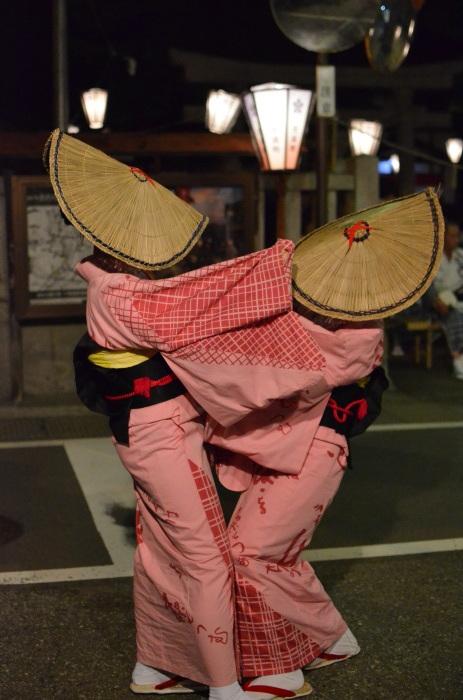 八尾回想2 おわら風の盆2014-14 天満町・舞台演舞_f0374895_00290560.jpg