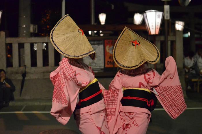 八尾回想2 おわら風の盆2014-14 天満町・舞台演舞_f0374895_00334667.jpg