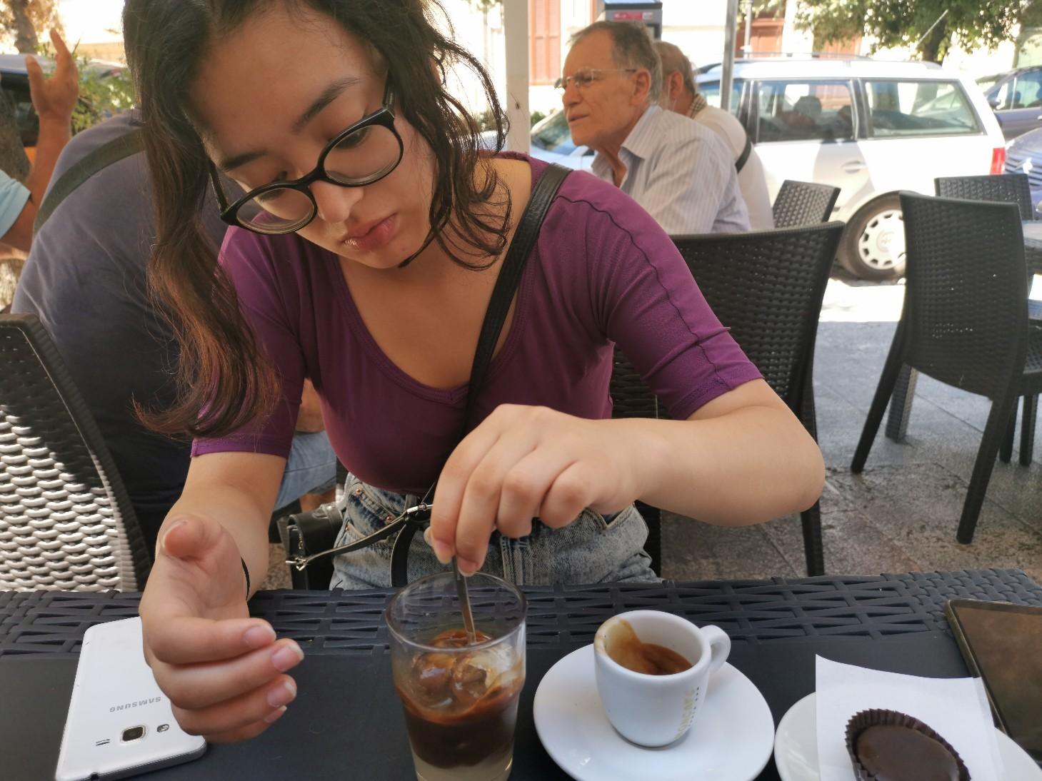 プーリア風アイスコーヒー~プーリア滞在記_f0106597_21081625.jpg