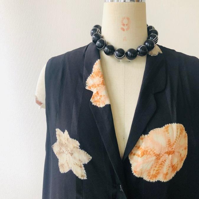 着物リメイク・羽織からロングジレ_d0127925_10202019.jpg