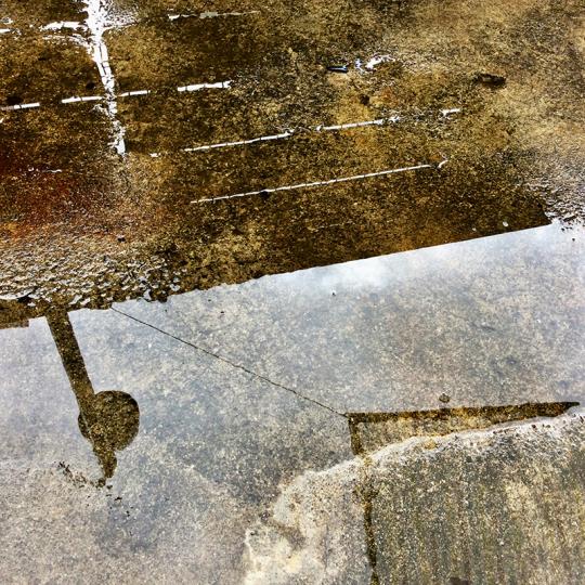 夏の終わり・水たまり_a0165239_11022465.jpg