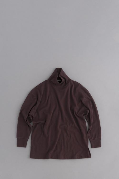 HAVERSACK High Neck Big Pullover (Brown)_d0120442_12293111.jpg