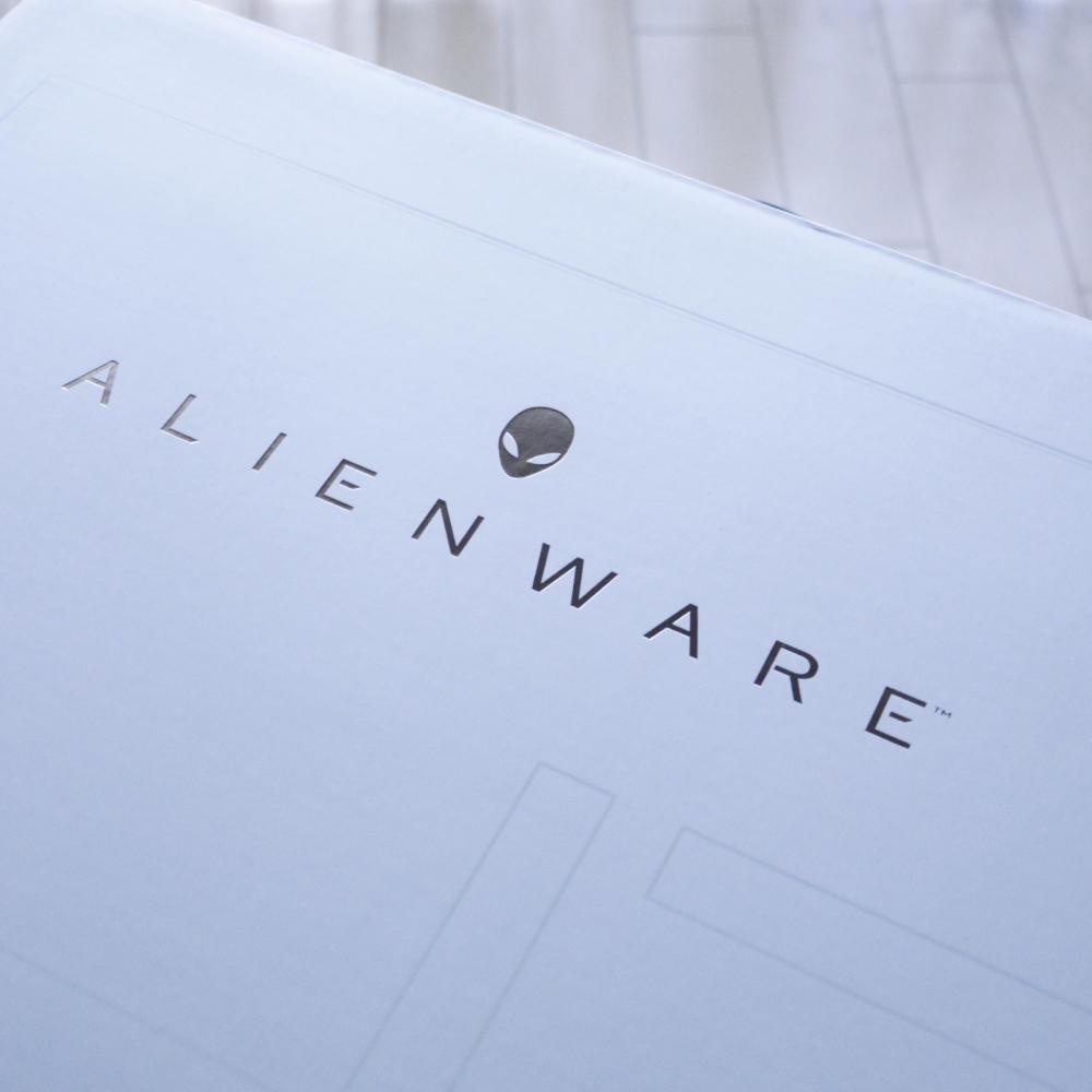 【PR】届きました!ALIENのロゴ入り17インチ #デルアンバサダー_c0060143_20500780.jpg