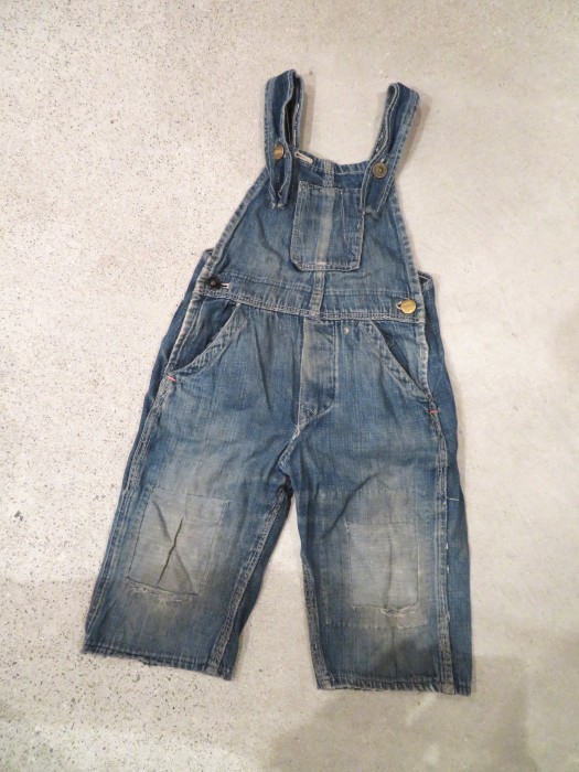 20\'s 30\'s ONE POCKET Kid\'s Overalls_e0187362_19243665.jpg