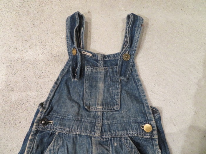 20\'s 30\'s ONE POCKET Kid\'s Overalls_e0187362_19245640.jpg