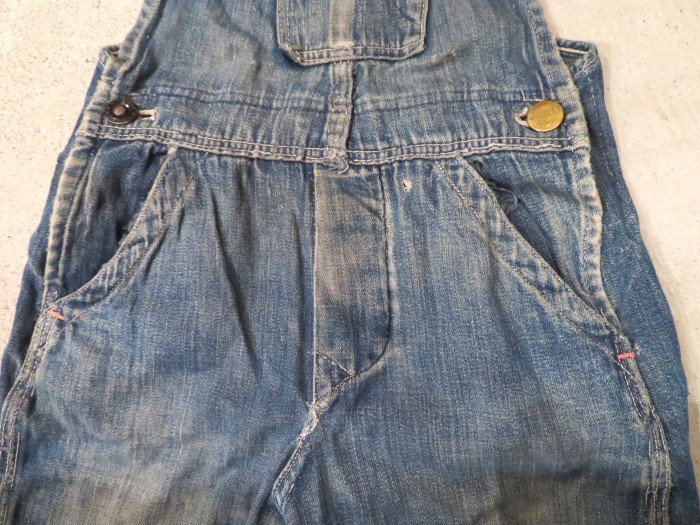 20\'s 30\'s ONE POCKET Kid\'s Overalls_e0187362_19260513.jpg