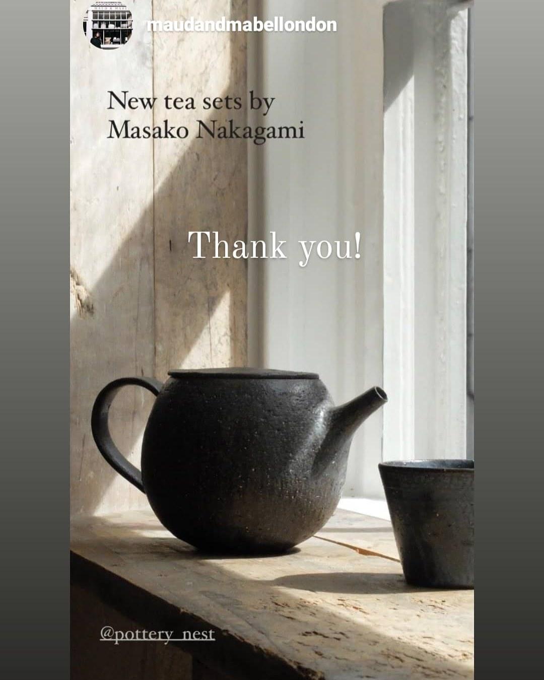 天然灰シリーズ~tea pot~_f0175265_09173705.jpg
