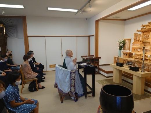 樹木葬 マイメモリーいずみ お盆供養会 _a0274383_18195604.jpg