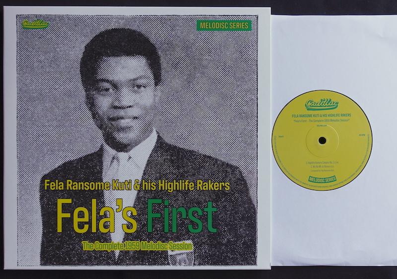 "New Disc : Fela Ransome Kuti \""Fela\'s First\""_d0010432_17113451.jpg"