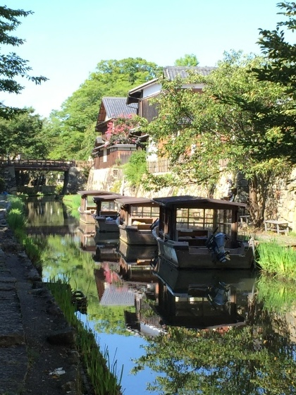 近江八幡で水郷めぐり_f0084492_10161053.jpeg