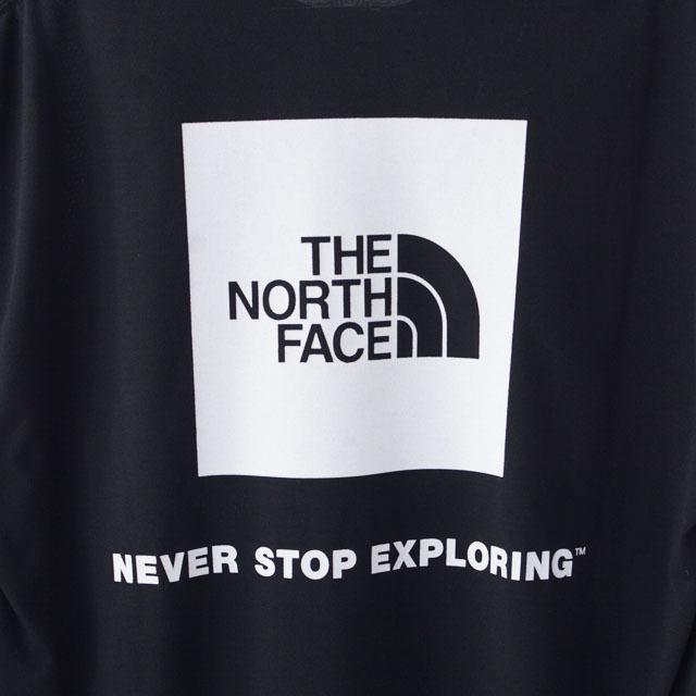 THE NORTH FACE [ザ・ノース・フェイス] M L/S Back Square Logo Tee [NT82035] ロングスリーブバックスクエアロゴティー・ MEN\'S _f0051306_15073448.jpg