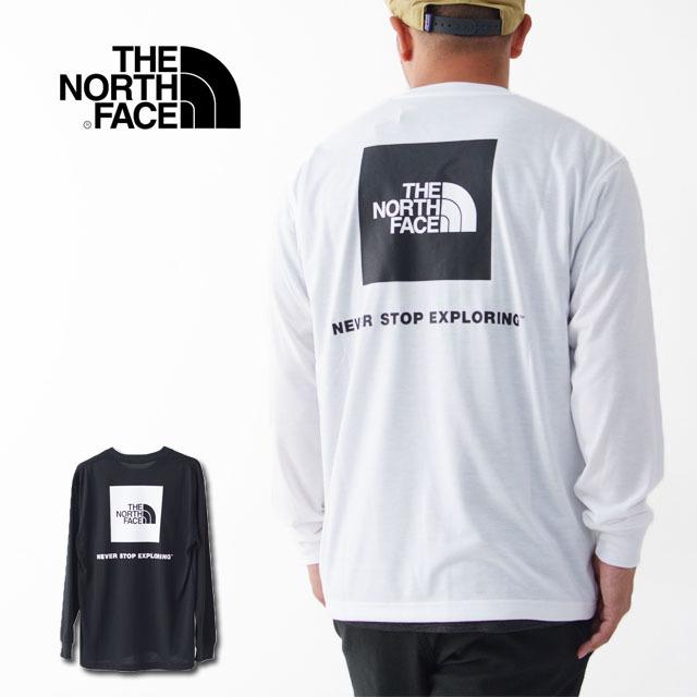 THE NORTH FACE [ザ・ノース・フェイス] M L/S Back Square Logo Tee [NT82035] ロングスリーブバックスクエアロゴティー・ MEN\'S _f0051306_15073487.jpg
