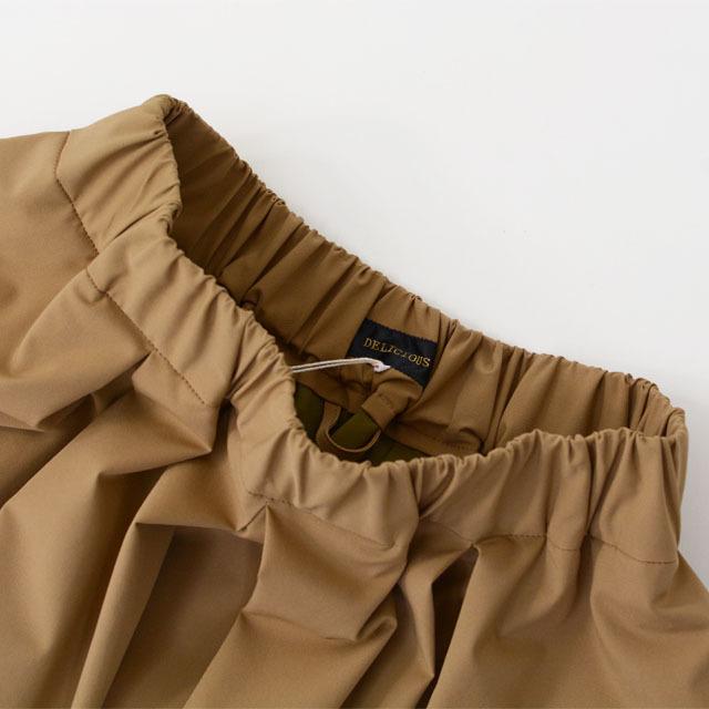 DELICIOUS [デリシャス] Tucked Skirt [DSK0563] タックスカート・ミディアム丈・ LADY'S (STUDIOORIBE/スタジオオリベ) _f0051306_15230572.jpg