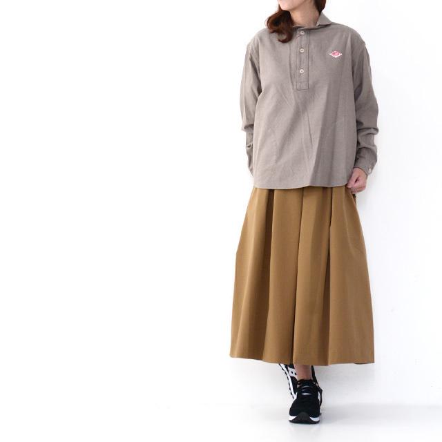 DELICIOUS [デリシャス] Tucked Skirt [DSK0563] タックスカート・ミディアム丈・ LADY'S (STUDIOORIBE/スタジオオリベ) _f0051306_15230680.jpg