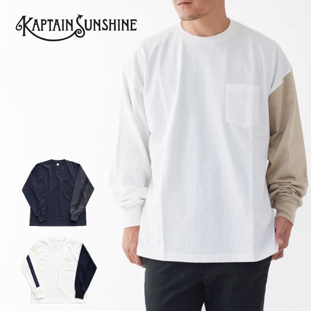 KAPTAIN SUNSHINE [キャプテンサンシャイン] West Coast Long Sleeved Tee [KS20FCS13] 長袖TEE・ MEN\'S _f0051306_15333623.jpg